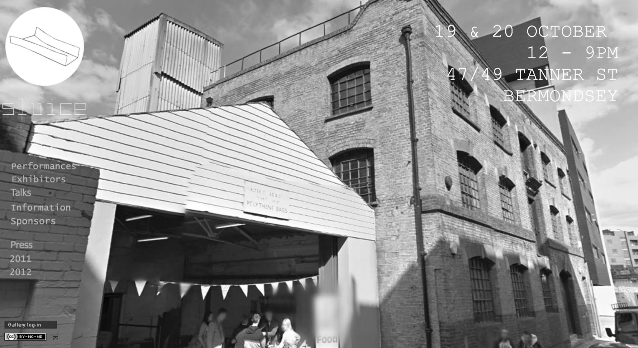 Sluice (London) avec Shema Projects